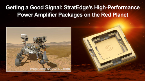 Power Amplifier Packages on Mars
